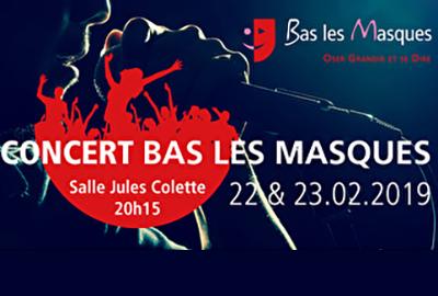 bonne qualité haute couture très loué Bas les Masques en concert - CJC - Une fédération au service ...