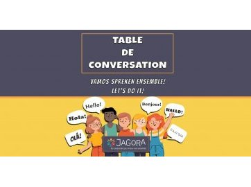Table de conversation Jagora
