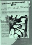 Cahier de revendications 2006